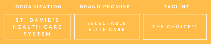 st. david's brand promise