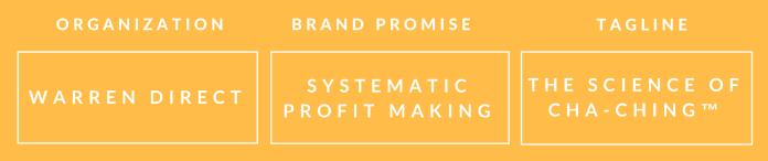 warren direct brand promise